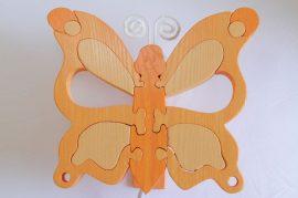 Pillangó fali lámpa, barack