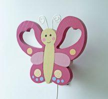 Pillangó  fali lámpa kis szépséghibával