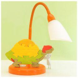 Teknős asztali lámpa