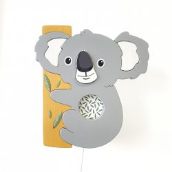 Koala fali lámpa