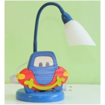Autós asztali lámpa
