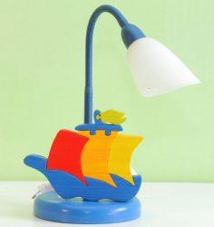 Hajó asztali lámpa 2 különböző színben