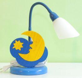 Hold asztali lámpa
