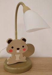 Hód asztali lámpa