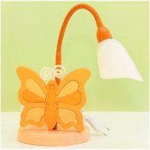 Pillangó asztali lámpa, barack