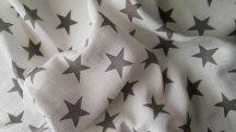 Hagyományos Tetra pelenka, mintás  3 db-os kiszerelés - Szürke csillag