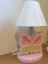 Pillangó rózsa éjjeli lámpa