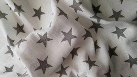 Hagyományos Tetra pelenka, mintás  1db-os kiszerelés - Szürke csillag