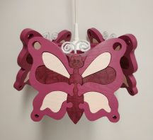 Pillangó lila csillár