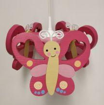 Pillangó csillár, pink
