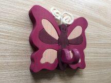 Pillangó lila  minifogas