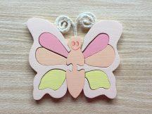 Pillangó rózsa bútordísz