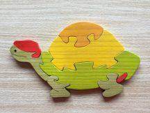 Teknős narancs bútordísz