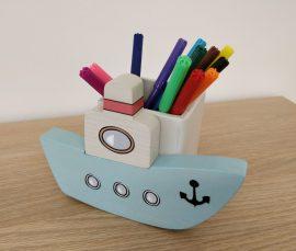 Hajó ceruzatartó