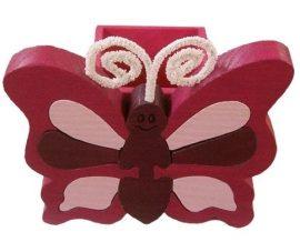 Pillangó lila ceruzatartó