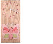 Pillangós óra, rózsaszín