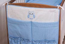 Zsebes tároló Kék pöttyös - Lulu bagoly