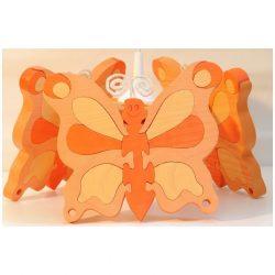 Pillangó barack csillár