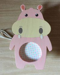 Viziló  fali lámpa, rózsaszín