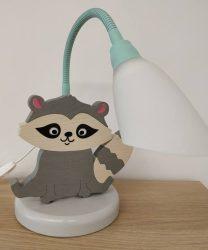 Mosómedve asztali lámpa