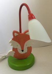 Róka asztali lámpa