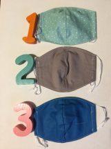 Textil szájmaszk gyermekeknek JUNIOR méretben