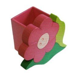 Virág ceruzatartó