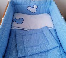 3 részes babaágynemű szett Harmónia-Premi - kék Peti